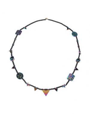 Ожерелье AMBUSH. Цвет: черный