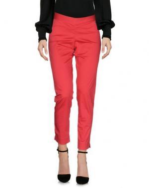 Повседневные брюки JUST FOR YOU. Цвет: пурпурный