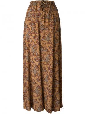 Платье с принтом Vanessa Seward. Цвет: многоцветный