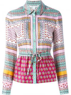 Рубашка Ivanka Diane Von Furstenberg. Цвет: многоцветный
