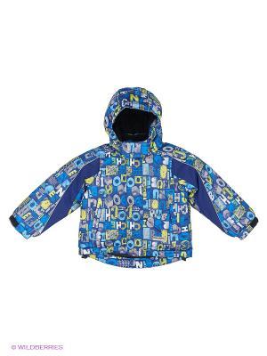 Куртка для мальчика Cherubino. Цвет: синий, серый