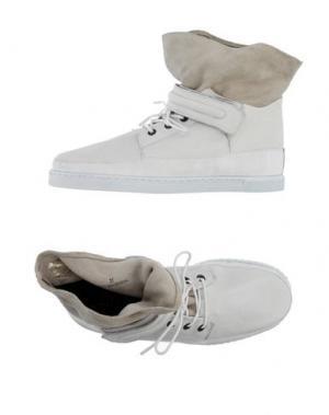 Высокие кеды и кроссовки SWEAR-LONDON. Цвет: белый