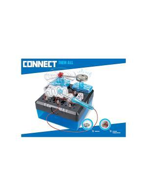 Научный опыт Лабиринт со светом, на батарейках, в коробке Amazing Toys. Цвет: синий, серый, голубой
