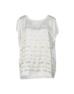 Блузка GIOFERRARI. Цвет: белый