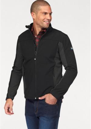 Куртка Softshell POLARINO. Цвет: синий, темно-серый, черный