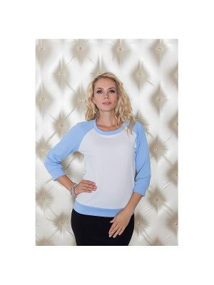 Блузка Eliseeva Olesya. Цвет: голубой