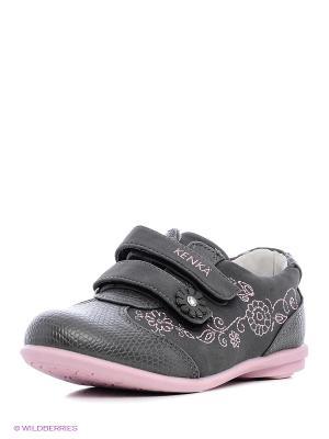 Ботинки KENKA. Цвет: серый