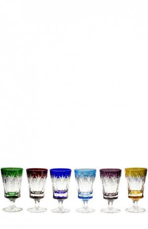 Набор из 4-х рюмок для водки Grand Palais Tsar. Цвет: бесцветный