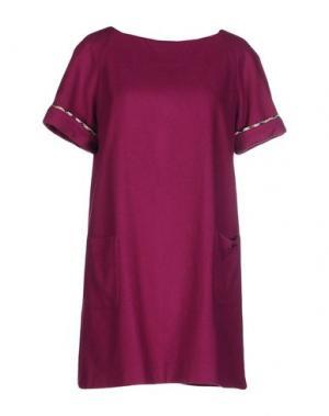 Короткое платье AQUASCUTUM. Цвет: фиолетовый