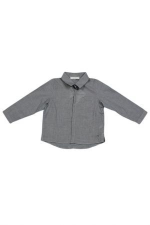 Рубашка Baby Dior. Цвет: серый