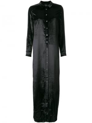Long shirt dress Equipment. Цвет: чёрный