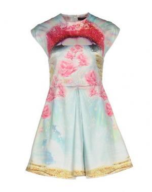 Короткое платье MANISH ARORA. Цвет: розовый