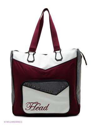 Сумка Womens Club Bag HEAD. Цвет: бордовый