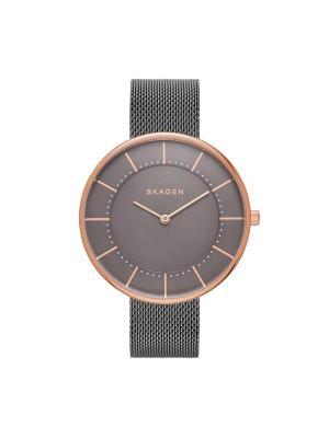 Часы SKAGEN. Цвет: серый, розовый, золотистый
