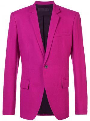 Вечерний блейзер Haider Ackermann. Цвет: розовый и фиолетовый