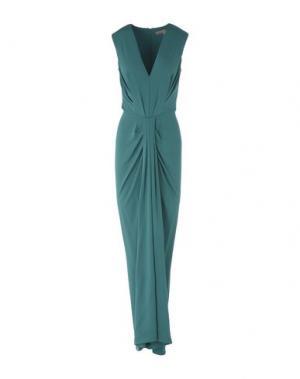 Длинное платье SPACE STYLE CONCEPT. Цвет: зеленый