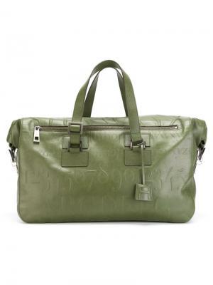 Дорожная сумка Didot Assouline. Цвет: зелёный