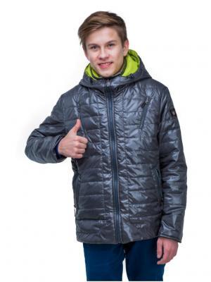 Куртка Пралеска. Цвет: темно-серый