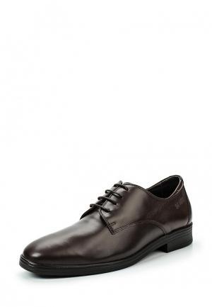 Туфли 24HRS. Цвет: коричневый