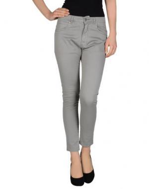 Повседневные брюки SOALLURE. Цвет: светло-серый