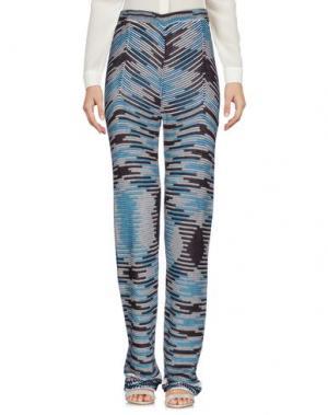 Повседневные брюки LAMBERTO LOSANI. Цвет: темно-синий