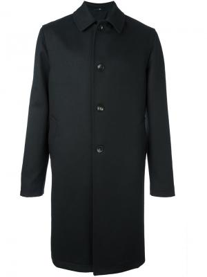 Классическое пальто Hevo. Цвет: чёрный