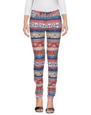 Джинсовые брюки KENZO. Цвет: красный