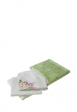 Постельное белье Tete-a-Tete. Цвет: зеленый