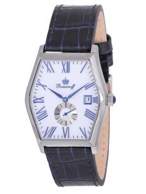 Часы наручные Romanoff. Цвет: белый, синий, серебристый