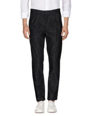 Джинсовые брюки ONE SEVEN TWO. Цвет: стальной серый