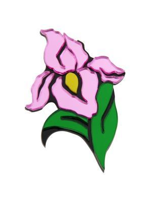 Брошь Iris Core. Цвет: розовый