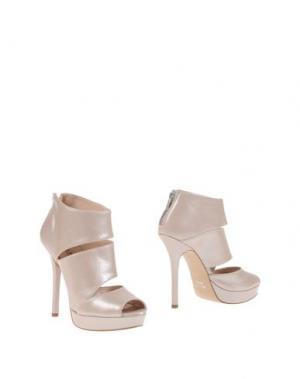 Полусапоги и высокие ботинки ELIANA BUCCI. Цвет: бежевый
