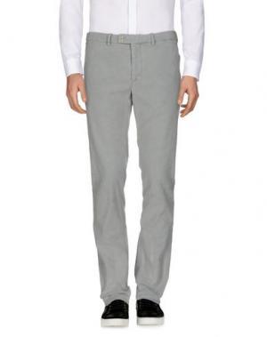 Повседневные брюки HARRY & SONS. Цвет: светло-серый