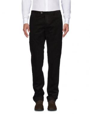 Повседневные брюки MANUEL RITZ WHITE. Цвет: темно-коричневый