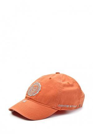 Бейсболка Canoe. Цвет: оранжевый
