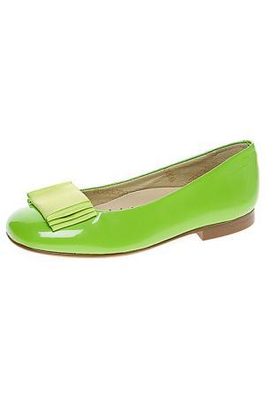 Туфли Eli. Цвет: зеленый