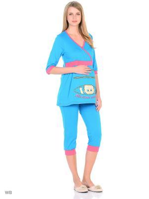Пижама Flip. Цвет: синий
