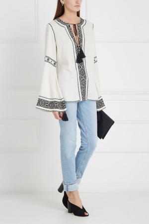 Хлопковая блузка Talitha. Цвет: белый