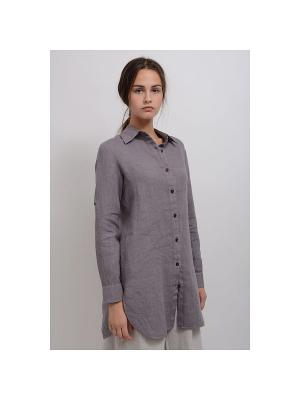 Блуза Даниелла LINO RUSSO. Цвет: антрацитовый
