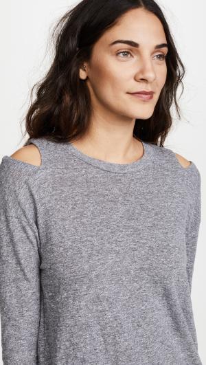 Neck Cutout Sweatshirt MONROW
