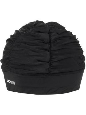 Шапочка для плавания JOSS. Цвет: черный