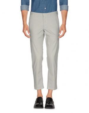Повседневные брюки DOMENICO TAGLIENTE. Цвет: светло-серый