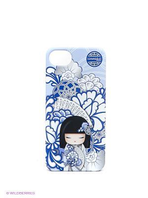 Чехол для iphone 5 Kimmidoll. Цвет: голубой, синий