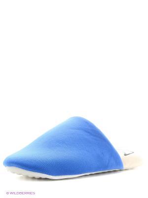 Тапочки Modis. Цвет: светло-голубой