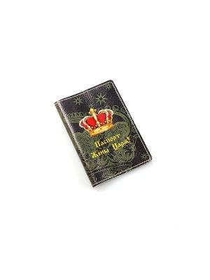 Обложка для паспорта Кажан. Цвет: серый