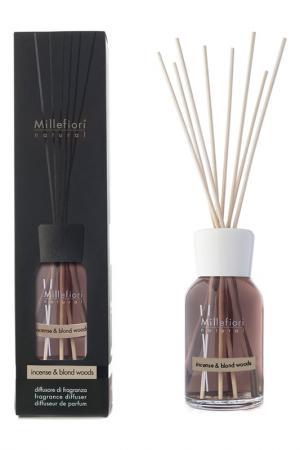 Диффузор 250 мл millefiori milano. Цвет: коричневый