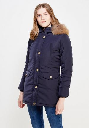 Куртка утепленная Fascinate. Цвет: синий