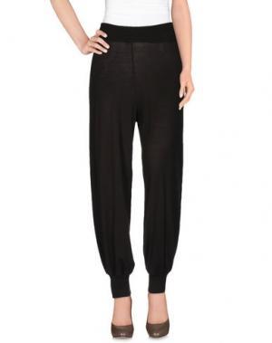 Повседневные брюки AGATHA CRI. Цвет: темно-коричневый