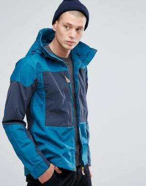 Fjallraven Куртка с карманами Keb. Цвет: темно-синий