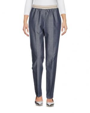 Джинсовые брюки ROSSO35. Цвет: синий